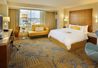 JW Marriott Los Angeles L.A. LIVE Widok pokoju