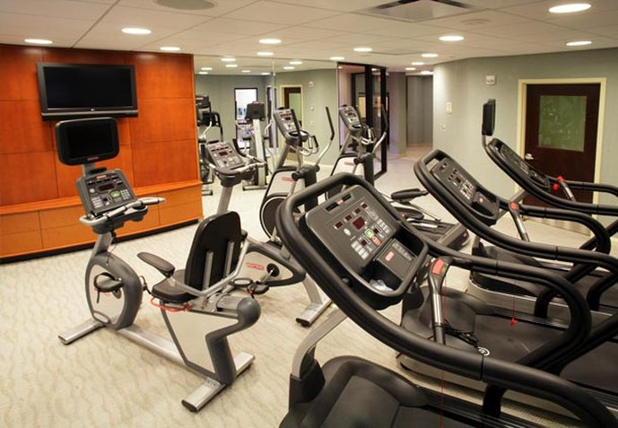 Courtyard Atlantic City Klub Fitness