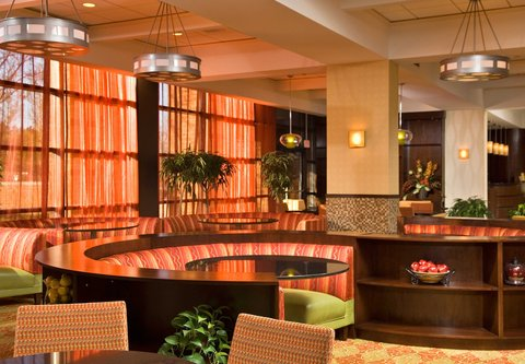 Albany Marriott - Lobby Seating