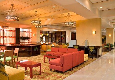 Albany Marriott - Lobby