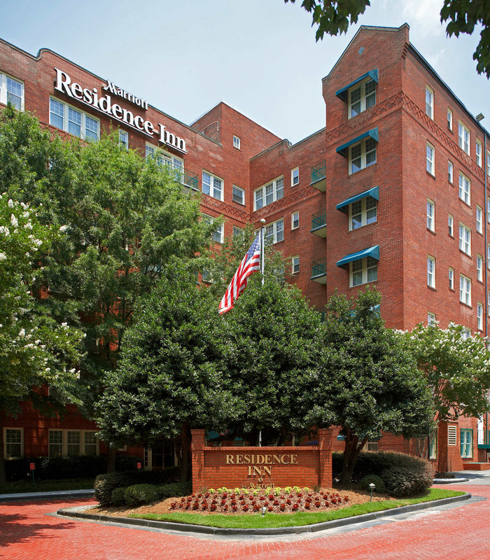 Residence Inn Atlanta Midtown/Historic Вид снаружи