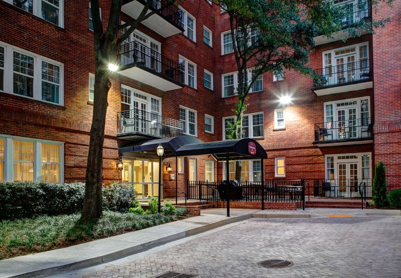 Residence Inn Atlanta Midtown/Historic Вид снаружи