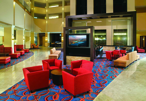 Atlanta Marriott Century Center/Emory Area - Lobby