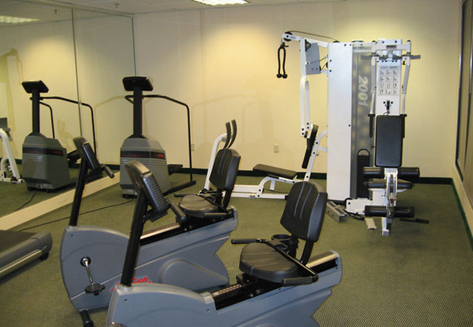 Hotel Courtyard Atlanta Six Flags Fitness salonu