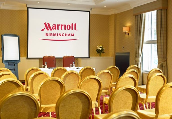 Marriott Birmingham Sala convegni
