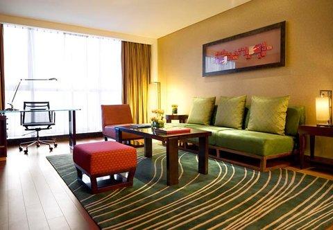 Beijing Marriott Hotel Northeast - Executive Suite Living Room