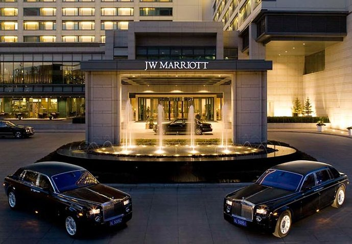 JW Marriott Hotel Beijing Вид снаружи