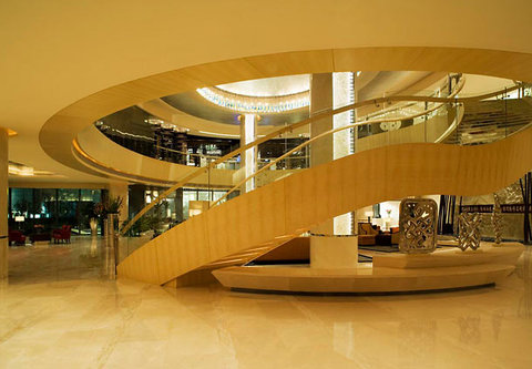 JW Marriott Hotel Beijing - Lobby Staircase