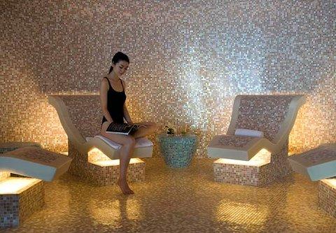 JW Marriott Hotel Beijing - Heated Mosaic Chairs