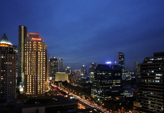 Sathorn Vista, Bangkok - Marriott Executive Apartments Außenansicht