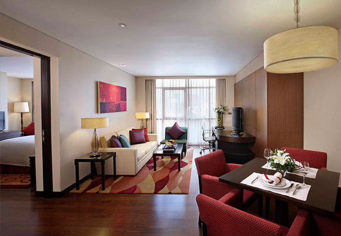 Sathorn Vista, Bangkok - Marriott Executive Apartments Zimmeransicht