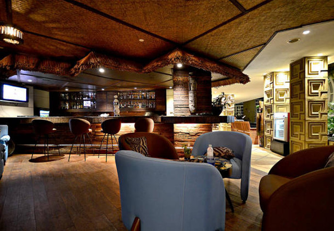 Marriott Mayfair Executive Apartment Bar/Lounge