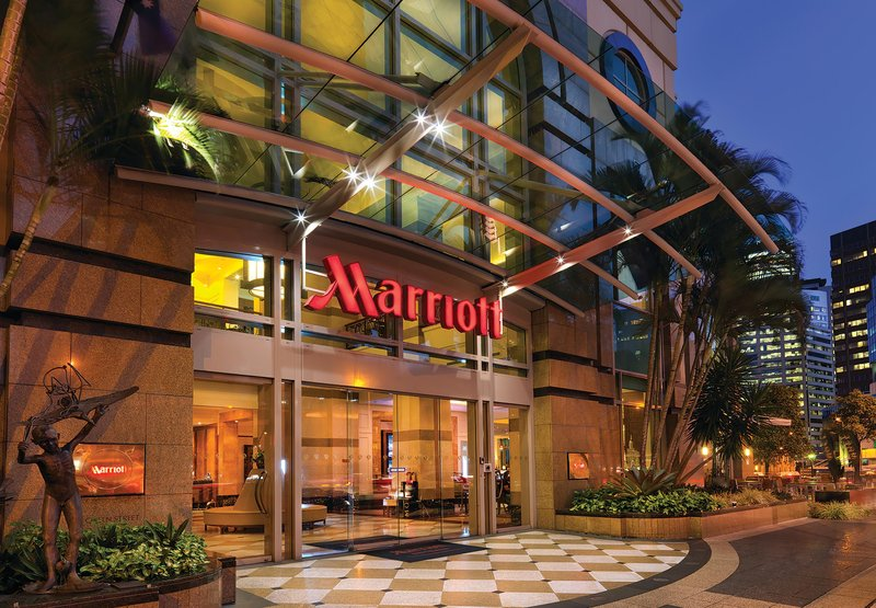Marriott Brisbane Buitenaanzicht
