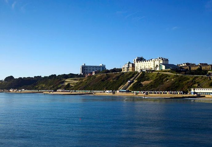 Marriott Bournemouth Highcliff Hotel Pohled zvenku