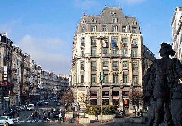 Marriott Brüssel Buitenaanzicht