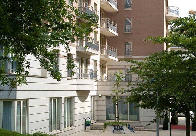 Marriott Executive Apartments Brüssel Außenansicht