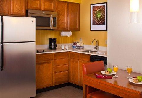 Residence Inn Baton Rouge Siegen Lane - Suite Kitchen