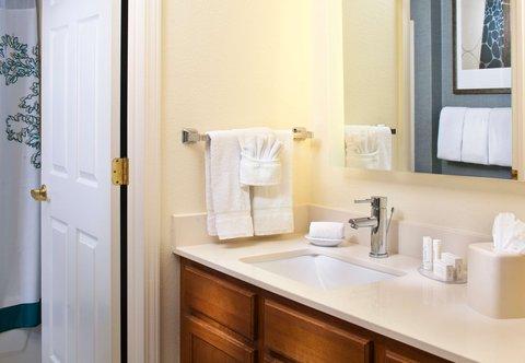 Residence Inn Baton Rouge Siegen Lane - Suite Bathroom