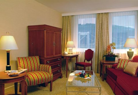Millennium Court, Budapest - Marriott Executive Apartments - Two-Bedroom Apartment Living Room