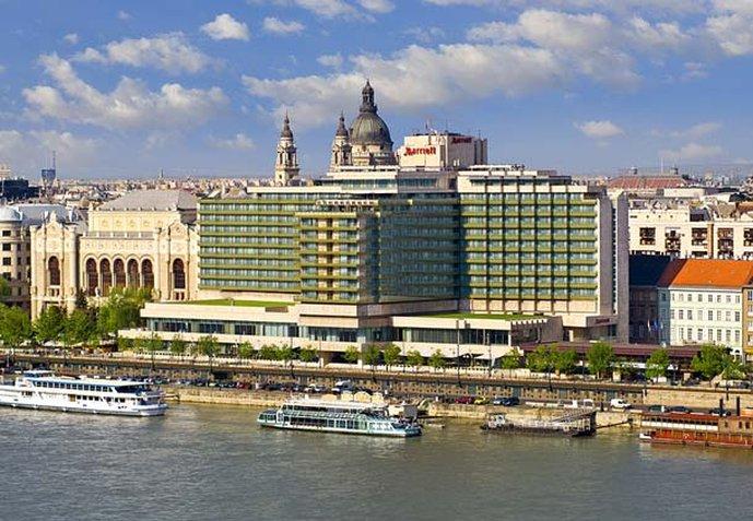 Marriott Budapest Hotel Set udefra