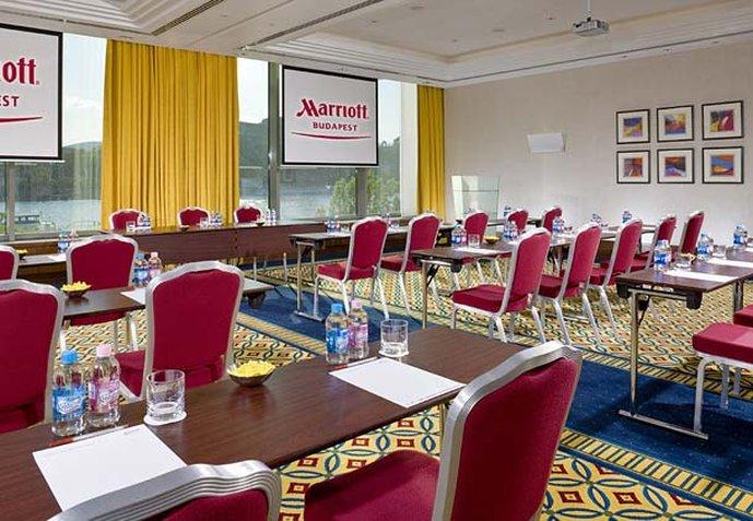 Marriott Budapest Hotel Billede af værelser