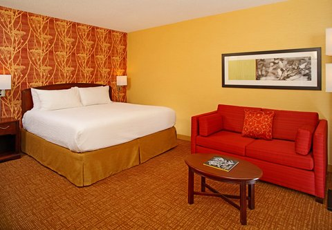 Courtyard By Marriott Downtown Baltimore Hotel - King Guest Room