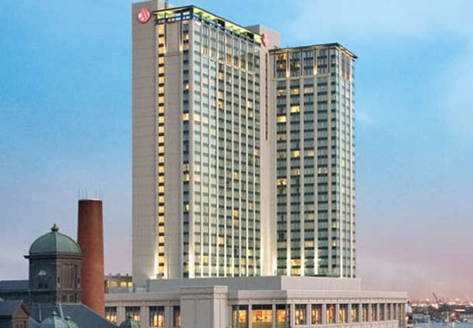 Marriott Baltimore Waterfront Hotel 外観
