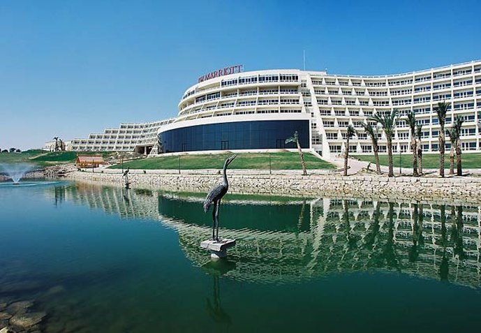 JW Marriott Hotel Cairo Vue extérieure