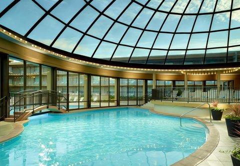 Chicago Marriott O'Hare Hotel - Indoor Outdoor Pool