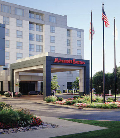 Marriott Suites Chicago Deerfield Pohled zvenku