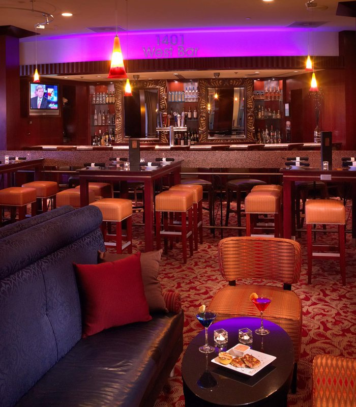 Chicago Marriott Oak Brook Bar/salón