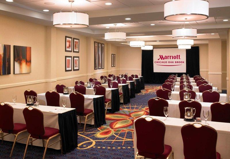 Chicago Marriott Oak Brook Konferenciaterem