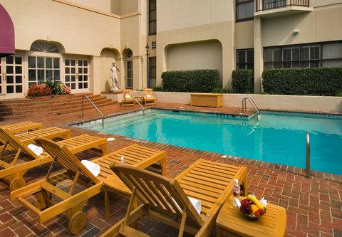 Charlotte Marriott SouthPark - Outdoor Pool