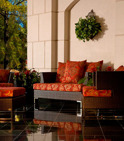 Charlotte Marriott SouthPark - Outdoor Seating