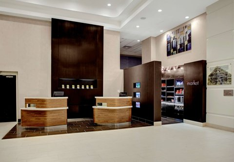 Courtyard By Marriott Columbus Downtown Hotel - Welcome Pedestals