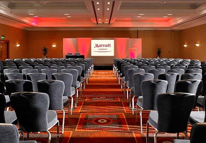 Marriott Cardiff 会议厅