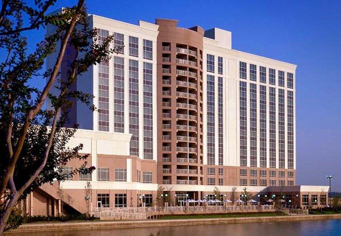 Marriott Dallas Las Colinas Pohled zvenku
