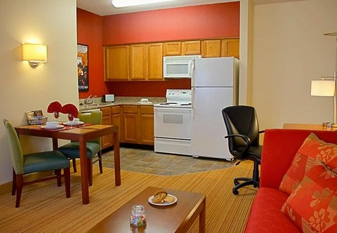Residence Inn By Marriott Dallas Park Central - Studio Suite Kitchen