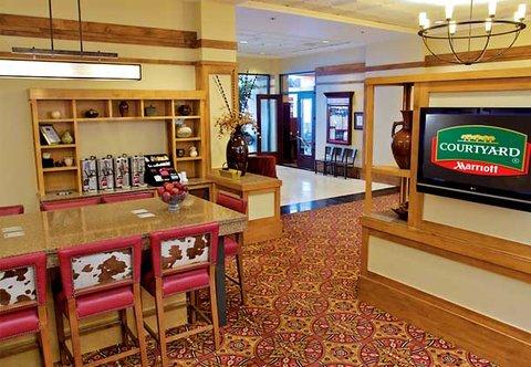 Marriott Courtyard Denver Downtown Hotel - Beverage Station