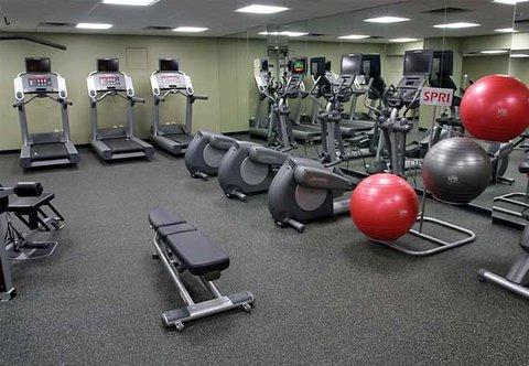 Marriott Courtyard Denver Downtown Hotel - Fitness Center