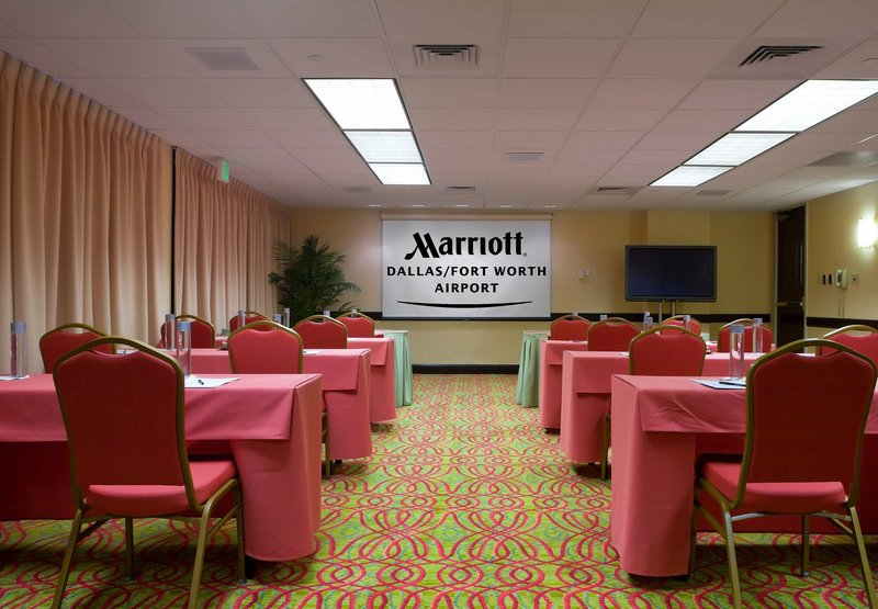 Marriott Dallas Fort Worth Airport North Конференц-зал