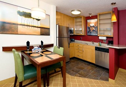 Residence Inn Dothan - One-Bedroom Suite Kitchen