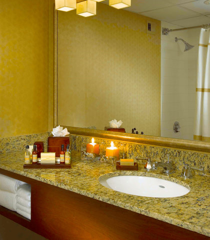 Des Moines Marriott Downtown - Guest Room Bathroom