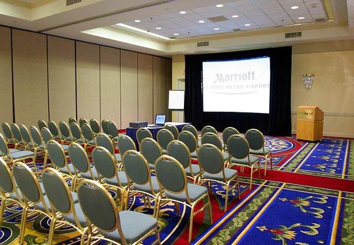 Marriott Detroit Airport Meeting room