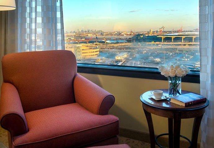 Newark Liberty International Airport Marriott Zimmeransicht