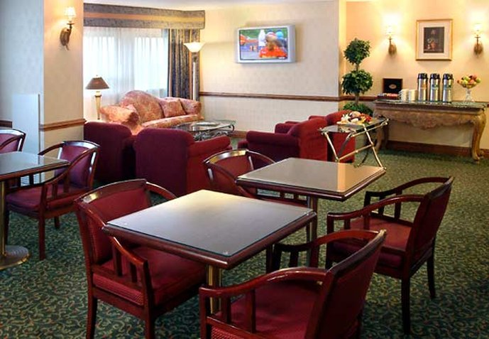 Teaneck Marriott at Glenpointe Bár/lounge