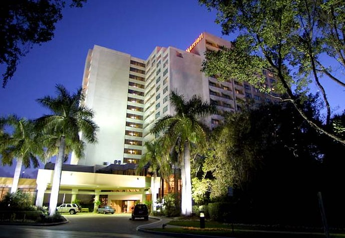 Hotel Fort Lauderdale Marriott North Widok z zewnątrz