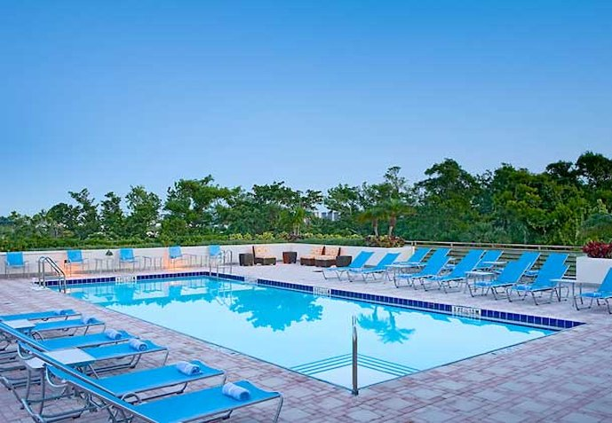Hotel Fort Lauderdale Marriott North Klub Fitness