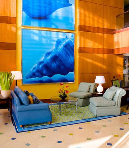 Courtyard by Marriott Fort Lauderdale Beach 前厅