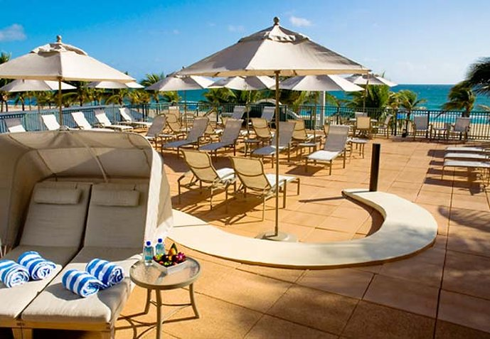 Courtyard by Marriott Fort Lauderdale Beach 健身俱乐部